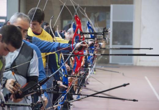 Carral celebra a VII edición da liga galega de Escolas de Tiro con Arco