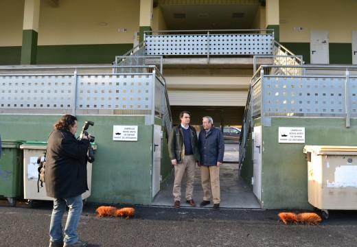 Cambre prevé adxudicar este mes a renovación do campo de fútbol Dani Mallo