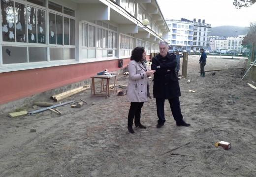 Educación investiu 10.500 euros en diversos traballos de mellora de dous centros educativos do concello de Cedeira