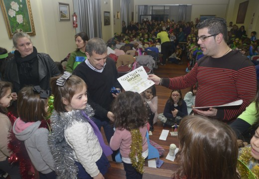 Clausura dos obradoiros de conciliación de Nadal do concello de Riveira
