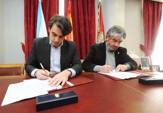 A Deputación da Coruña achega 90.000 euros ao concello de Paderne para mellorar a pavimentación de varios camiños