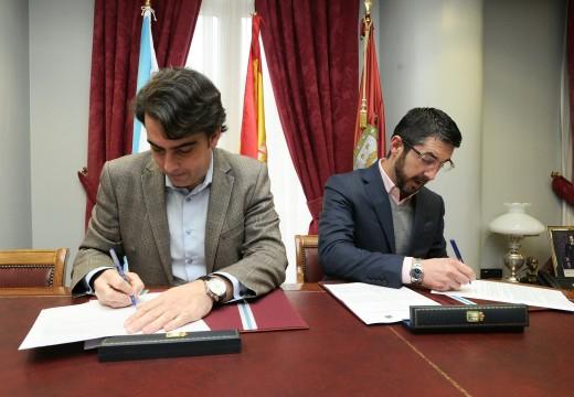 A Deputación apoia con 80.000 euros o proxecto de acondicionamento da contorna da nova escola infantil de Porto do Son