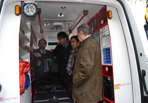 A Deputación da Coruña fai entrega dunha ambulancia á Cruz Vermella de Ferrol