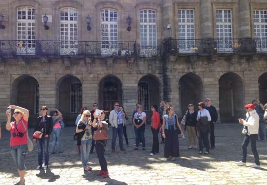 Turismo de  Galicia organizou o pasado ano 17 viaxes de familiarización nos que participaron 85 prescritores entre xornalistas e operadores turísticos