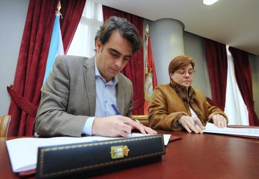 A Deputación da Coruña colabora coa Asociación Coruñesa de promoción del sordo e permite manter todos os servizos aos seus usuarios