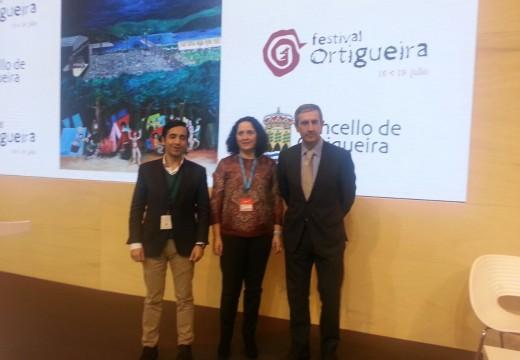 A delegada territorial da Xunta na Coruña destaca o potencial do Festival Internacional do Mundo Celta de Ortigueira para a promoción de todo o xeodestino Rías Altas-Ferrolterra
