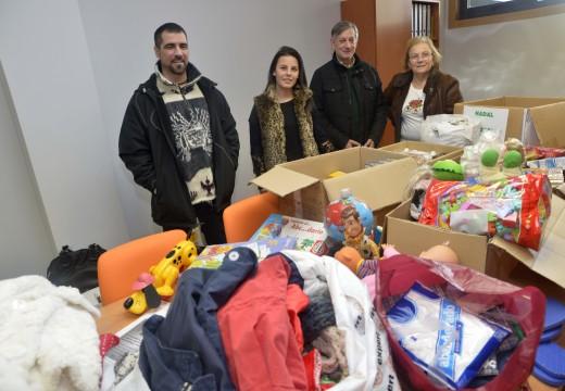 Un total de 32 empresas de Riveira implicáronse na Campaña Nadal Solidario de axuda ás familias máis desfavorecidas