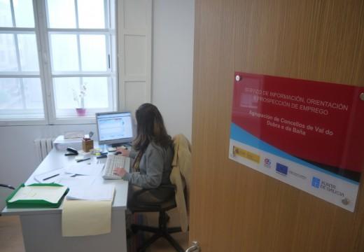 Val do Dubra acolle dende finais de 2014 na sede do seu Concello o Servizo de Información e Orientación laboral dos Concellos de Val do Dubra e A Baña