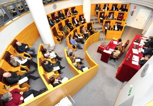 O pleno da Deputación da Coruña dá luz verde á desafectación da súa parcela de Sabón