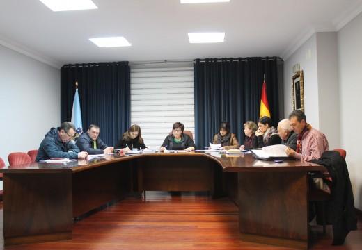 O pleno de Lousame aproba por unanimidade a súa adhesión á Central de Contratación da Deputación Provincial da Coruña