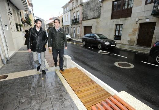 """A Deputación inviste 700.000 euros en obras que """"cambiarán a faciana"""" de Porto do Son"""