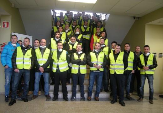 Preto de 60 Policías Locais de Galicia rematan o curso de xestión de residuos sólidos urbanos que tivo lugar na AGASP