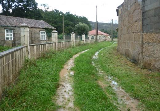 A Xunta dá luz verde a unha obra de mellora de cinco camiños rurais nas parroquias de Artes, Oleiros, Olveira e Carreira