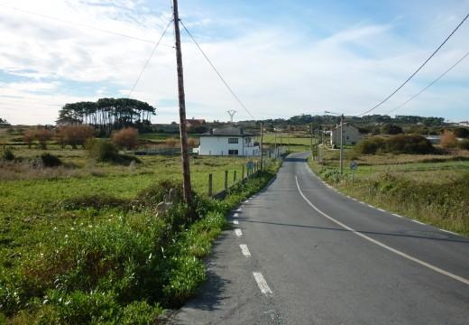 A Deputación activa a construción dunha senda peonil de 305 metros que afianzará a seguridade viaria entre Vixán e A Graña
