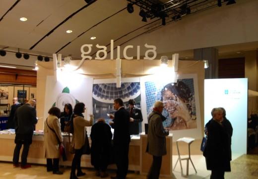 Galicia, comunidade líder no sector termal, promociona a súa oferta na feira Thermalies de París