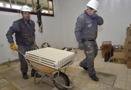 Arranca a construción da nova área de atención cidadá no Consistorio de Riveira