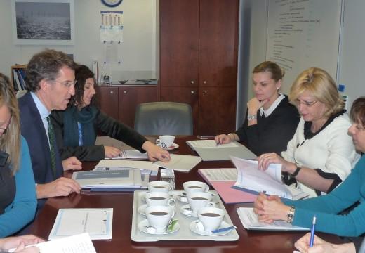 Feijóo avanza que neste mes de febreiro a Comisión Europea aprobará o Programa operativo Feder elaborado pola Xunta para 2014-2020, dotado con 900 millóns de euros