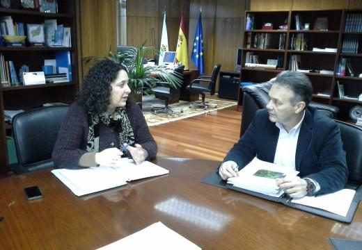 O Concello de Cabanas trasládalle á Xunta o proxecto para liderar un obradoiro de emprego vencellado ás Fragas do Eume cos municipios que integran o parque natural
