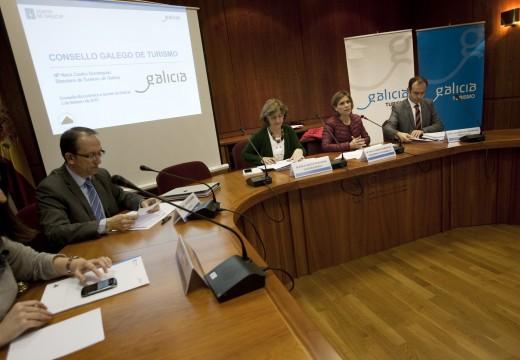 O Consello Galego de Turismo reúnese para analizar os datos acadados polo sector no 2014 e marcar novas metas
