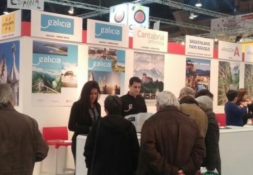 Turismo de Galicia promociona a oferta turística da comunidade no 'Salon des Vacances', o certame turístico máis importante de Bélxica