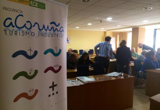 """Comezan en Santiago os obradoiros coas empresas seleccionadas para participar no proxecto """"Provincia da Coruña, destino de Turismo Industrial"""""""