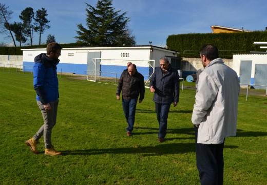 Rivas visita o Campo Os Pinares de Brexo-lema