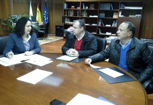 Os concellos de Aranga, Irixoa, Monfero e Vilarmaior trasladan á Xunta o proxecto para a realización conxunta dun obradoiro de emprego