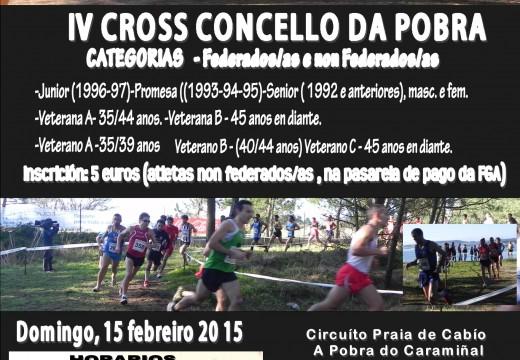 IV CROSS CONCELLO DA POBRA