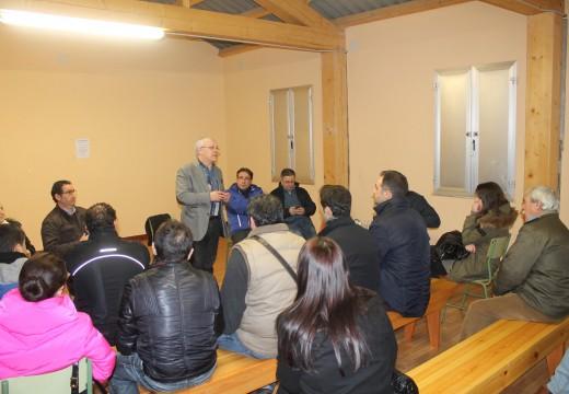 O Concello de Oroso construirá un local  social para a veciñanza de Porto Avieira