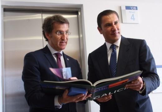 Feijóo destaca que ademais do naval, a automoción e o desenvolvemento urbanístico son actualmente sectores nos que galicia pode canalizar novas vías de colaboración con México