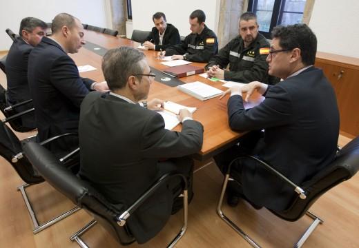 A Xunta e a Ume melloran a coordinación na loita contra os incendios forestais e a xestión de emerxencias