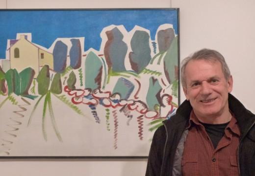 A sala de exposicións de Brión acolle unha mostra do pintor Veiras Manteiga
