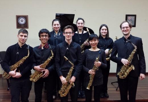 Exitosos recitais en Riveira dos alumnos da Aula Galega de Saxofón xunto a Carl Emmanuel Fisbach e Wenjiao Wang
