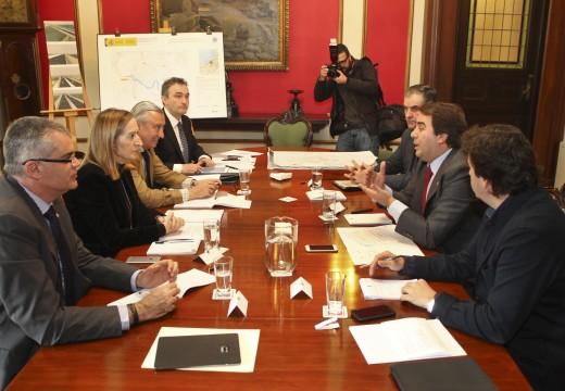 Negreira destaca o compromiso de Ana Pastor coa cidade e cualifica de estratéxico o proxecto de ampliación e mellora da Ponte da Pasaxe