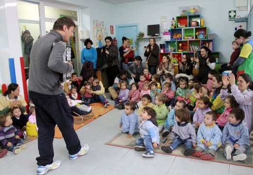 A gardería de Brión ofreceu hoxe o primeiro dos concertos da súa Semana da Música