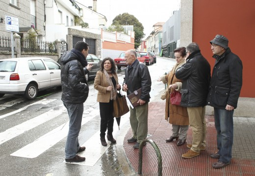 O Goberno local cambiará o sentido de circulación da rúa Río Tambre para mellorar a mobilidade na zona da Falperra