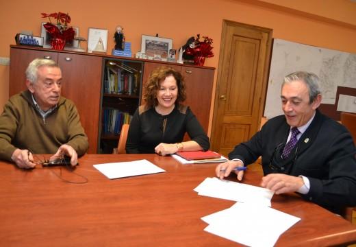 Cambre asina co Banco de Alimentos Rías Altas un novo convenio de colaboración