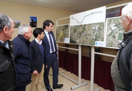 A Deputación iniciará en marzo a obra da rotonda que facilitará o acceso á Cabana e ás praias de Ferrol desde a estrada DP 3612