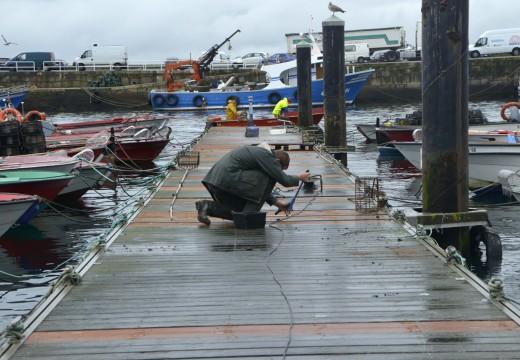 Portos de Galicia emprende obras de reposición e mellora no peirao de Riveira por valor de máis de 222.000 euros