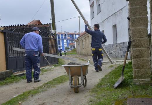 O concello emprende o acondicionamento da travesía de Insuabela en Aguiño