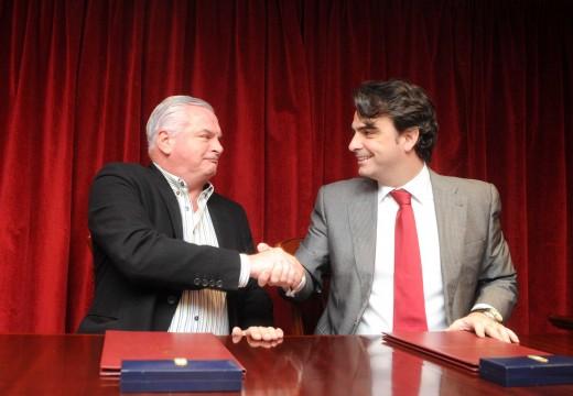 O concello de Neda ampliará o espazo destinado aos servizos sociais grazas a un convenio coa Deputación da Coruña