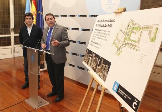 O alcalde anuncia a remodelación da praza de San Pablo, onde se crearán zonas de estanza e se multiplicará por catro o espazo para xogos infantís