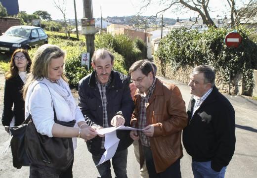 O Concello renova 5.000 metros cadrados de viais en Eirís de Arriba