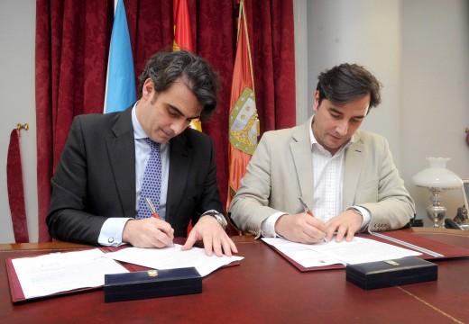 A Deputación apoia con 40.000 euros unha nova actuación do concello de Sada para mellorar a contorna do edificio da Terraza