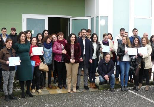 Lousame e Porto do Son clausuran o seu obradoiro de emprego conxunto