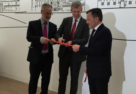 A Xunta participa na inauguración das novas instalacións do Club Financeiro de Santiago