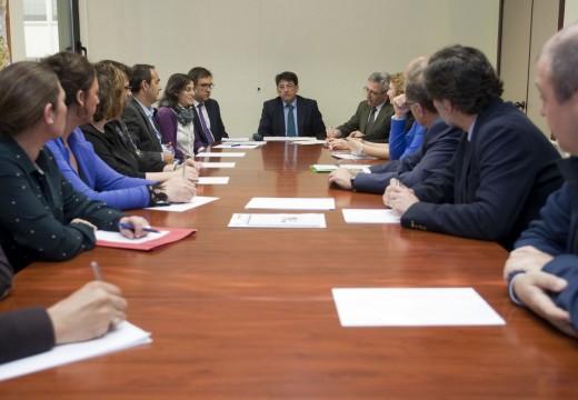 A Xunta reúne os representantes dos colexios de avogados para abordar melloras na xustiza gratuíta