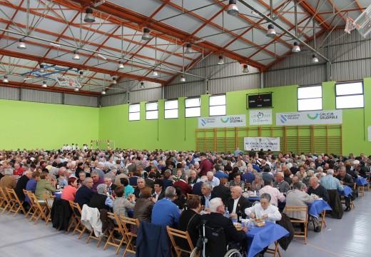 A Festa dos Maiores de Oroso reuniu a máis de seiscentos veciños e veciñas