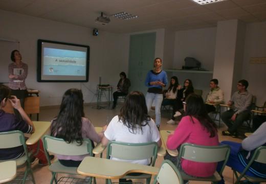 O alumnado do CPI Ponte Carreira participaron nunhas charlas sobre educación sexual