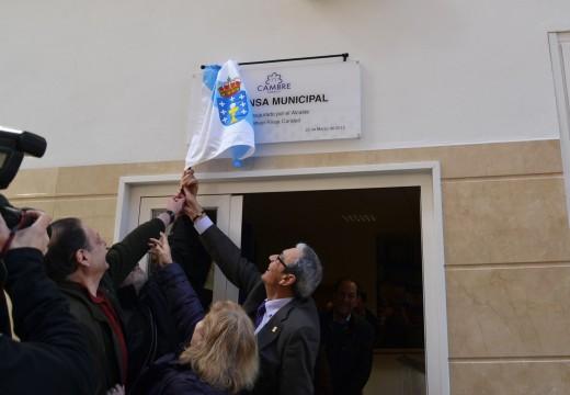 Cambre inaugurou a nova Despensa de Alimentos na Barcala